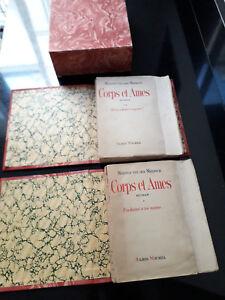 Maxence Van der Meersch, édition originale 1943, Corps et âmes, grand papier