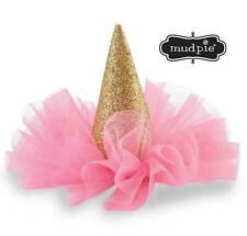 Mud Pie Birthday Girl Glitter Party Hat Clip