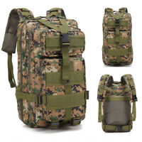 Tactical Backpack Military Fans Outdoor Rucksack Camping Hiking 600D Oxford