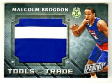 2016 Panini Black Friday TOOLS OF THE TRADE RELIC #7 MALCOLM BROGDON RC Rookie