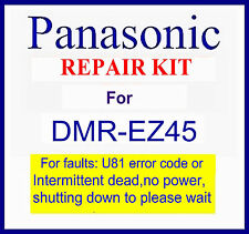Panasonic Dmr-ez45v Repair kit, Dead no power Dmr-ez45vebs dvd recorder