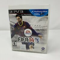 FIFA 14 Sony PlayStation 3 PS3 Game Complete With Manual Tested