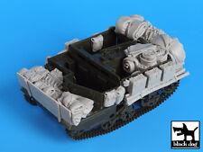 Bren carrier accessories set, T35019, BLACK DOG, 1:35