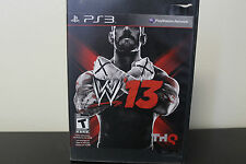 WWE '13  (Sony Playstation 3, 2012) *Tested