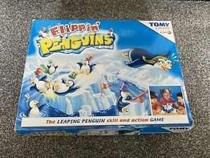 Tomy Flippin' Flipping Penguins childrens kids game  Ages 4+