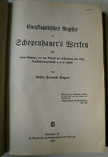 Arthur Schopenhauer era, Schopenhauer era obras Register, filosofía, te gusta Schopenhauer,