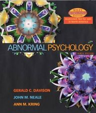 Abnormal Psychology,Gerald C. Davison, John M. Neale, Ann M. Kring