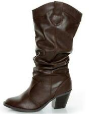 NEW Womens SODA LODE BROWN Knee High  Riding Dress Boots Shoes SZ 6.5