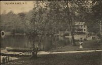 Oquaga Lake NY c1910 Postcard