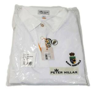British Open Peter Millar Golf Men's XL SS Shirt Royal Birkdale Summer Comfort