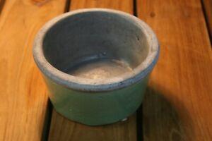 Ceramic Glazed Pot -  Mint Green