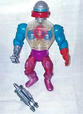 Vintage Motu Masters of the Universe He Man Roboto Heroic Warriors No Cracks