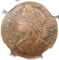 1787 Connecticut Draped Bust Left  Coin R5 - NGC MS61 (BU UNC) - $5,500 Value!