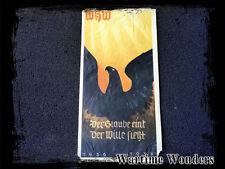 WW2 Original German Winterhilfswerk WHW Paper Door Plaque 1936/1937