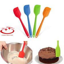 New Cake Cream Butter Spatula Mixing Batter Scraper Brush Silicone Baking Tools
