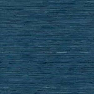 ROOM MATES PEEL AND STICK WALLPAPER - RMK11314WP - GRASSCLOTH BLUE