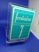 Aqua Berry Fontaine Playing Cards Unopened rare and ENTIRELY SOLD OUT! 1 of 2500