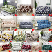 1/2/3/4 Seater Sofa Cover Couch Lounge Protector Slipcovers High Stretch Covers