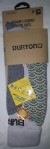 NEW BURTON Womens S/M 4- 7 Merino Wool Sock Phase Nano Glide $26 US $33 CA