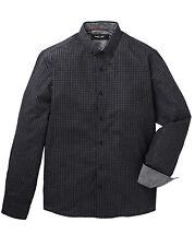 Jacamo Black Label Long Sleeve Check Shirt