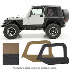 97-06 Jeep Wrangler Replacement Soft Top Upper Skins & Tinted Windows 9970235