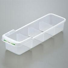 Truyoo Plastic Refrigerator Food Seasoning Bottle Storage Baskets Rack Box