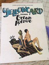 Yellowcard Final Tour Ocean Avenue Poster From Final LA Show