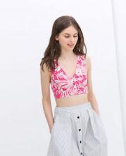 Hauts, chemises et T-shirts blancs Zara pour femme