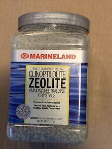 50 OZ Marineland White Diamond Media Clinoptilolite Zeolite