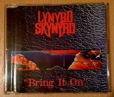 CD single promo only LYNYRD SKYNYRD Bring It On