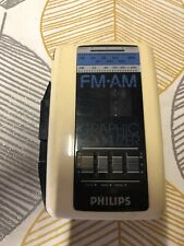 PHILLIPS TR5674 PORTABLE  CASSETTE PLAYER WALKMAN TESTED WORKING VINTAGE RETRO