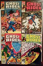 The Original Ghost Rider Rides Again (Marvel,1991) #1 2 3 4