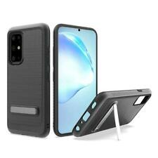 AMZER Protective Hybrid Case Magnetic Metal Stand for Samsung Galaxy S20 Plus