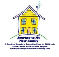 Journey to My New Family CBT Counseling Game, foster care, adopted
