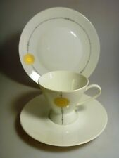 6 Kaffeegedecke, Rosenthal, Form 2000 Mitternachtssonne, 3tlg