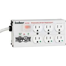 Tripp Lite Isobar Surge Protector Medical Metal 6 Outlet 15' Cord