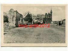 Foto, AK, Blick auf die Ruinen von Zonnebeke, Belgien (1810)..