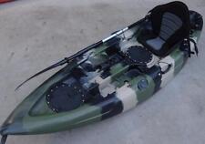 NEW SIERRA SINGLE FISHING KAYAK OCEAN KAYAK CANOE SEAT PADDLE CAMO KAYAK