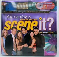 2005 Friends Deluxe Edition Scene It? The DVD Board Game Tin Box