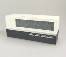 Atomic Alarm Clock with Thermometer
