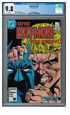 Batman #403 (1987) Cowan/Giordano Cover CGC 9.8 White Pages ZZ54
