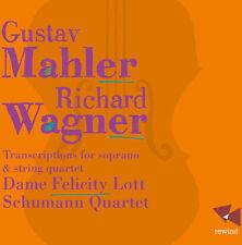 Mahler / Wagner - Transcriptions for Soprano & String Quartet [New CD]