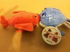 Kissing Fish Plush Couple Stuffed Smoochies Aurora