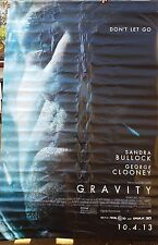 Vinyl Movie Banner from Gravity Starring George Clooney and Sandra Bullock