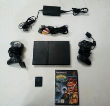 Playstation 2 slim completa con gioco CRASH BANDICOOT L'IRA di CORTEX
