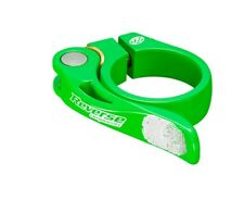 REVERSE Long Life 34,9 Saddle Clamp | Neon Green
