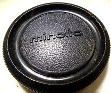 Minolta Camera Black Body Cap OEM  for SRT X XD 7 series cameras SRT 101 102 201