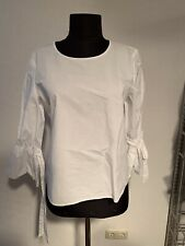 Bluse Esprit Weiß Elegant Gr. 40 Top Tunika Shirt
