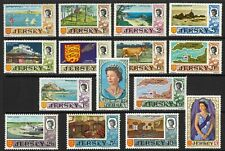 Jersey 1969 Pictorial Set/15 Stamps SG15/29(Sc.7/21) Mint Lightly Hinged 12-12