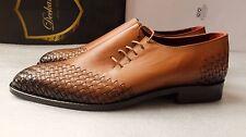 Deckard Oxford Greenberg MARRON Chaussures Hommes Taille 42EU (8UK) - fait main